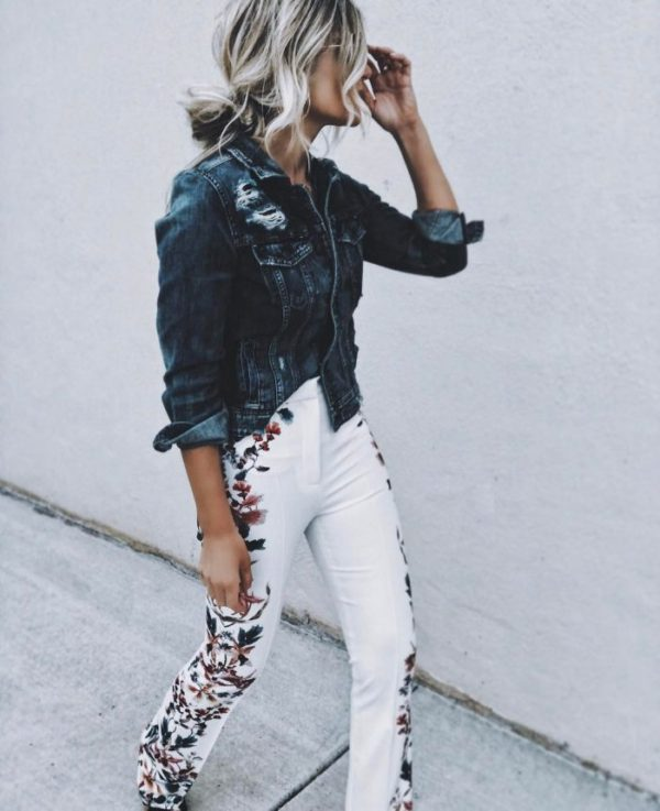 How to Wear Embroidered Jeans like a Pro: Outfit Ideas - FMag.c