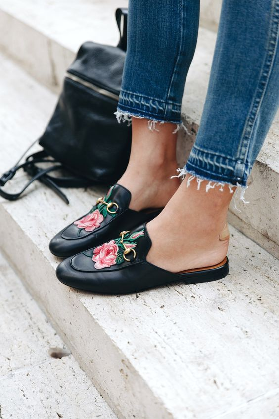 5 Fashion Trend Hacks To Update Your Look For 2017 | Floral shoes .