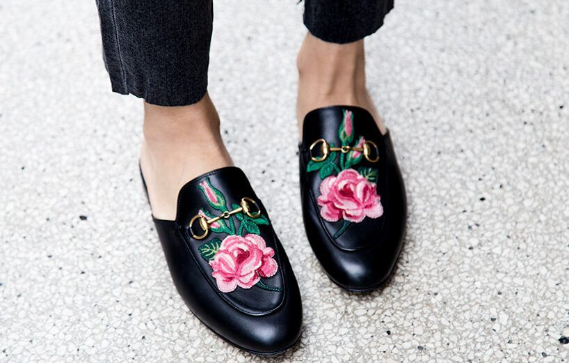 6 Designer Looks For Less | Gucci loafers, Loafers outfit summer .