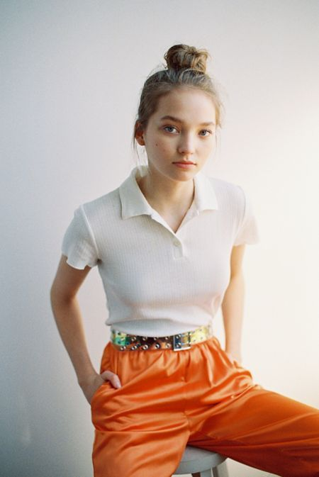Tops + T-shirts Sale for Women | Urban Outfitters | Polo shirt .