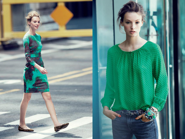 J.Crew Emerald City 2012 November Fall Style Guide | Denim Jeans .