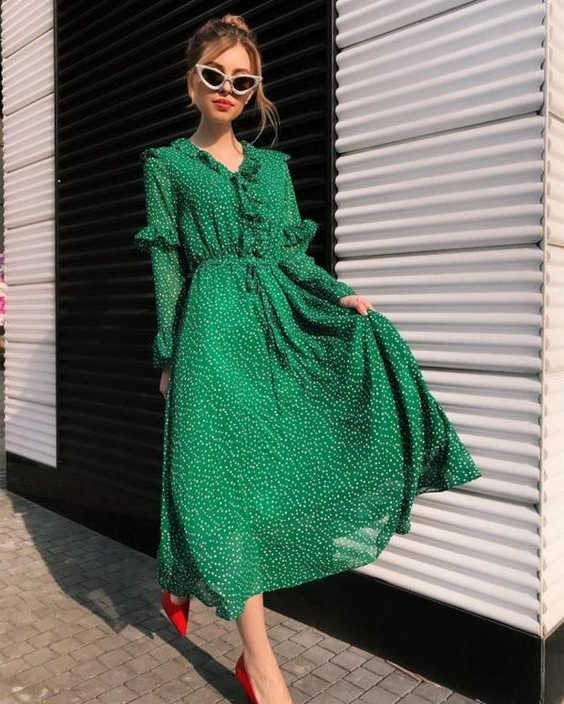 How To Wear Green Dresses Easy Guide For Beginners 2020 .