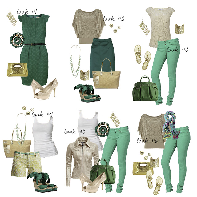 emerald green outfit ideas for photo shoot - Clickin Moms blog .