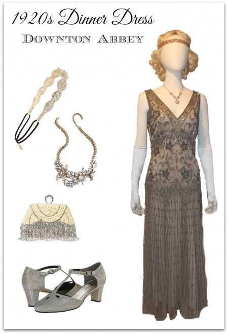 1920s Outfit Ideas: 10 Downton Abbey Inspired Costumes | 1920s .