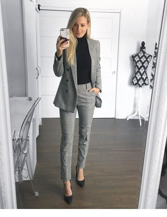 Check these great ideas for winter office looks, Casual wear .