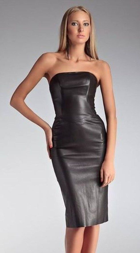 Wonderful Leather Dress Design Ideas That Inspire You44 | Leather .