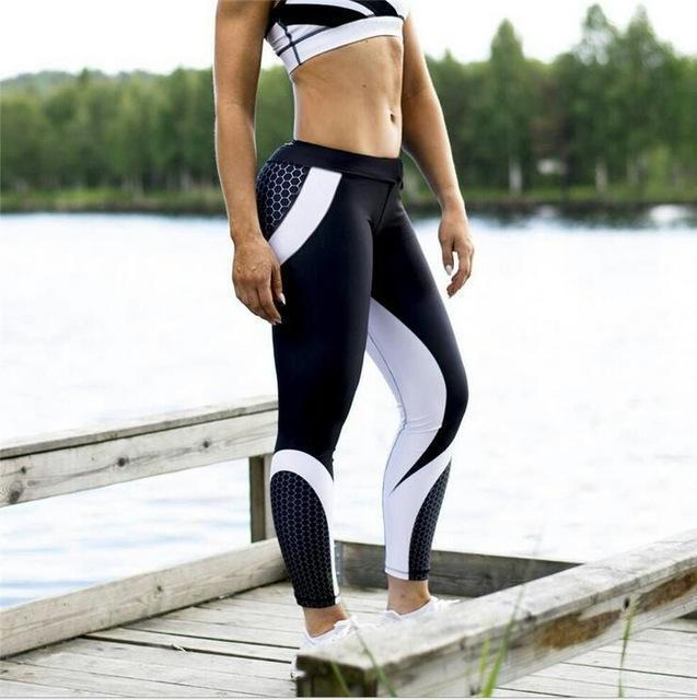 B.Bang Women Running Leggings Slimming Sport Pants Push Up Stylish .