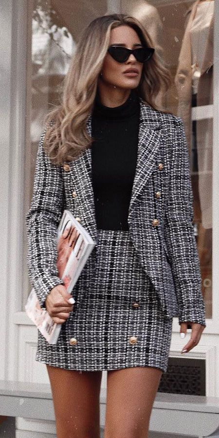 25 Women's Blazer Outfit Ideas To Conquer Everything | Blazer .