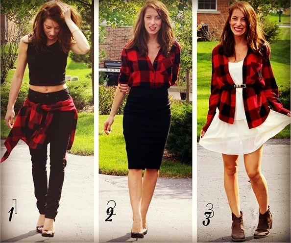 What To Wear Under Flannel And Still Look Sharp! | Cute flannel .