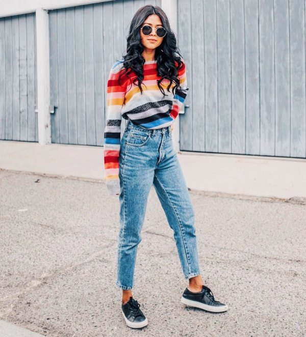 How to Wear Flannel Lined Jeans: 13 Stylish Outfit Ideas for Women .