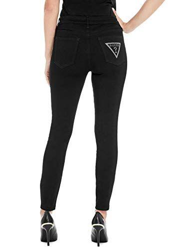 GUESS Factory Women's Eyana Logo Pocket Skinny Jeans | Flannel .