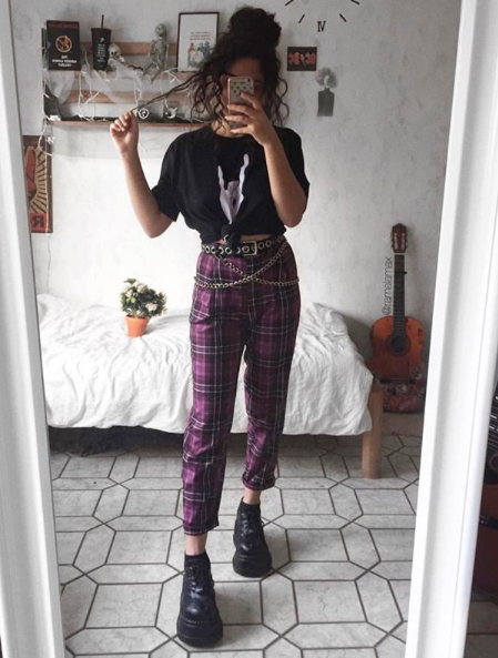 Monica Trousers | Aesthetic clothes, Edgy outfits, Retro outfi