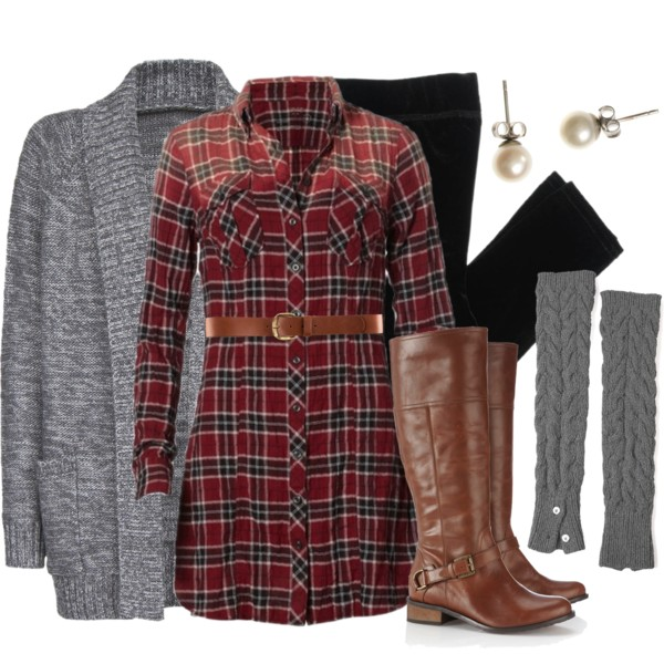 25 Pretty & Plaid Wintertime Outfit Ideas – Polyvore Outfits for .