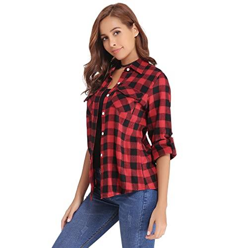 Women's Flannels: Amazon.c