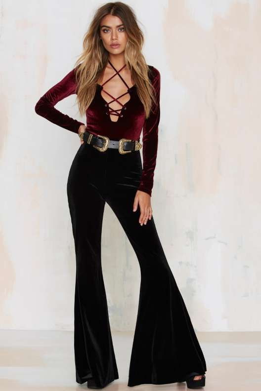 How To Wear Flared Pants (Outfit Ideas) 2020 | FashionTasty.c