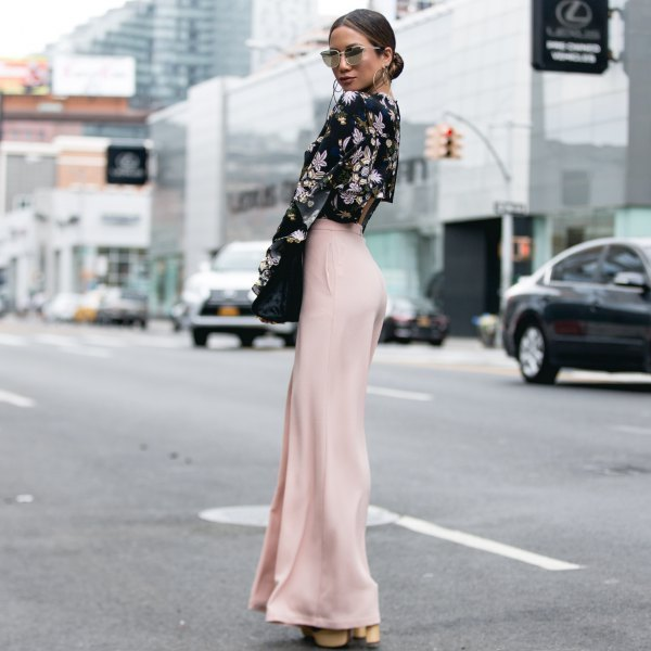 How to Wear Silk Pants: 15 Amazing Outfit Ideas for Women - FMag.c