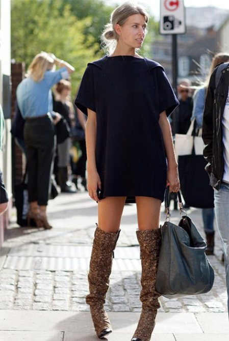 How To Wear Thigh-High Boots Without Looking Cheap | StyleCast
