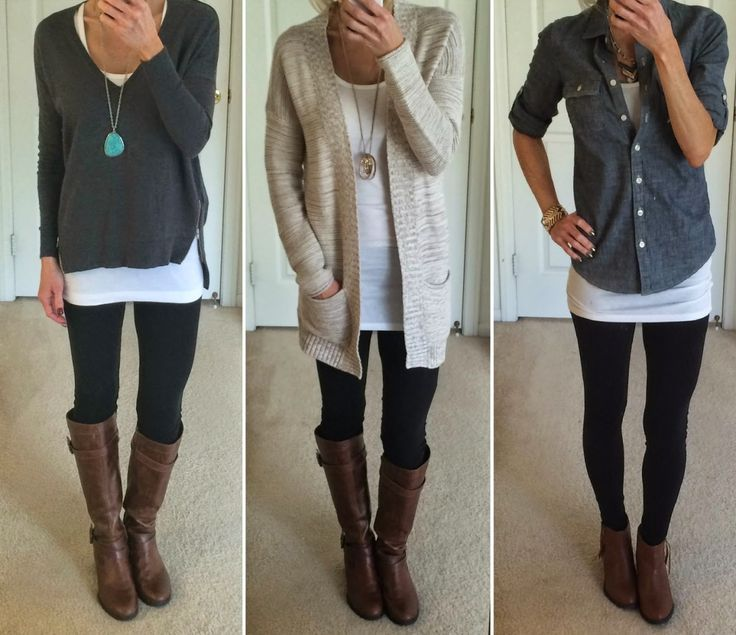 Pin by Calista Sites on Junior Year Fasion | Black leggings outfit .