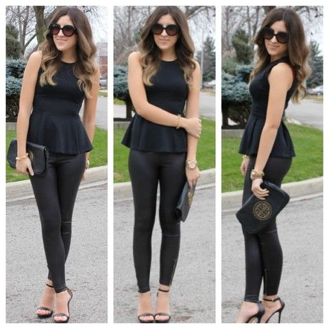 Club Outfits with Leggings | Tops To Wear With Leggings (With .