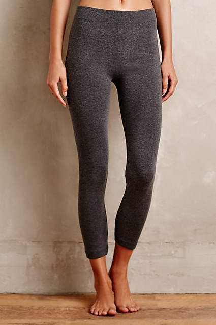 Fleece-Lined Leggings - #anthroregistry | Fleece leggings, Dark .