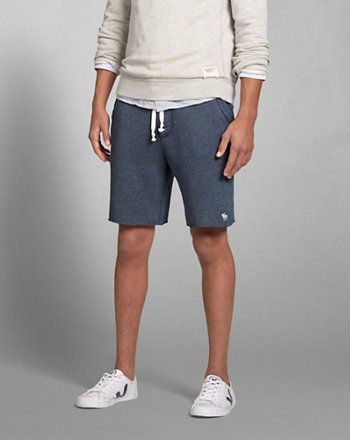 Mens A&F Fleece Shorts (With images) | Mens fleece shorts, Mens .
