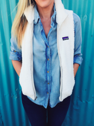 Women's Los Gatos Fleece Vest | Vest outfits, Cute outfits, Preppy .