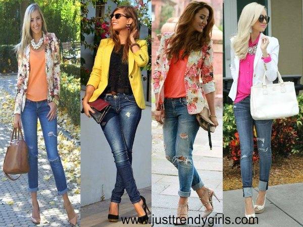 Casual blazers styling ideas | | Just Trendy Gir