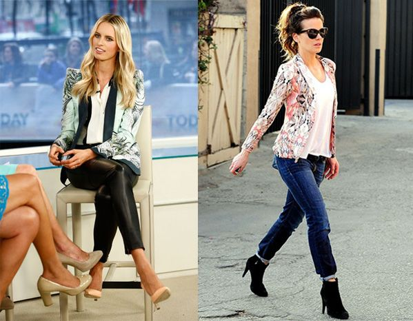 How to wear a floral blazer | Floral blouse outfit, Blouse outfit .