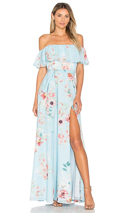 Shop for Yumi Kim Carmen Maxi Dress in Monte Carlo at REVOLVE .