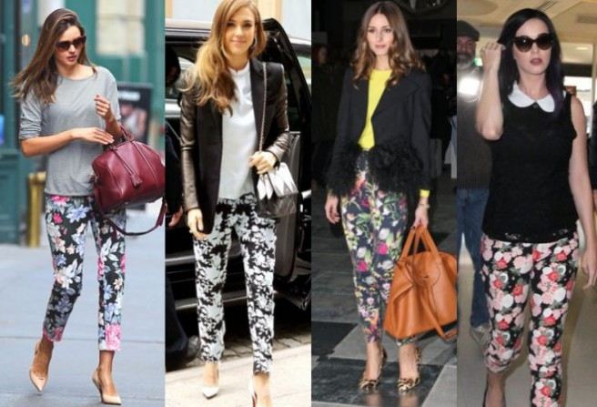 Floral Trousers Outfit Ideas - Outfit Ideas