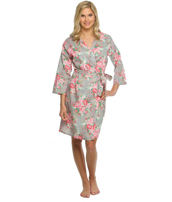 How to Style Floral Robe: Best 13 Cozy Home Outfit Ideas for Women .