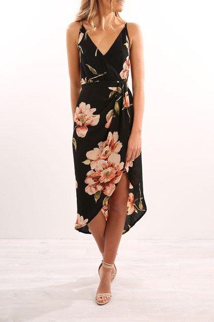 Kalene Dress Black | Trendy dresses, Guest attire, Guest dress