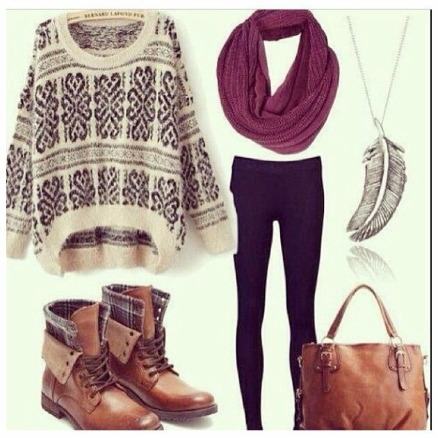 List 15 Famous Fall & Winter Oversize Sweater Outfit Designs On .