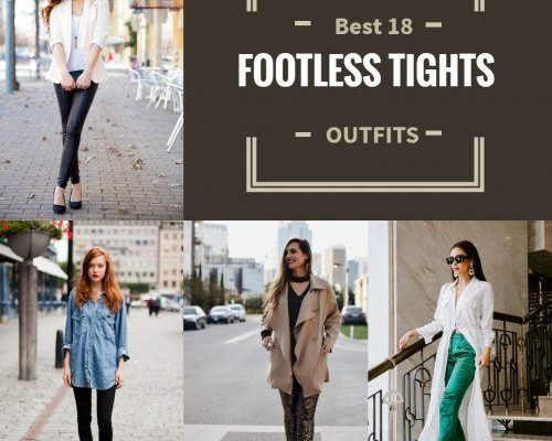 Footless Tights Outfits–18 Ideas How to Wear Footless Tights | Beau