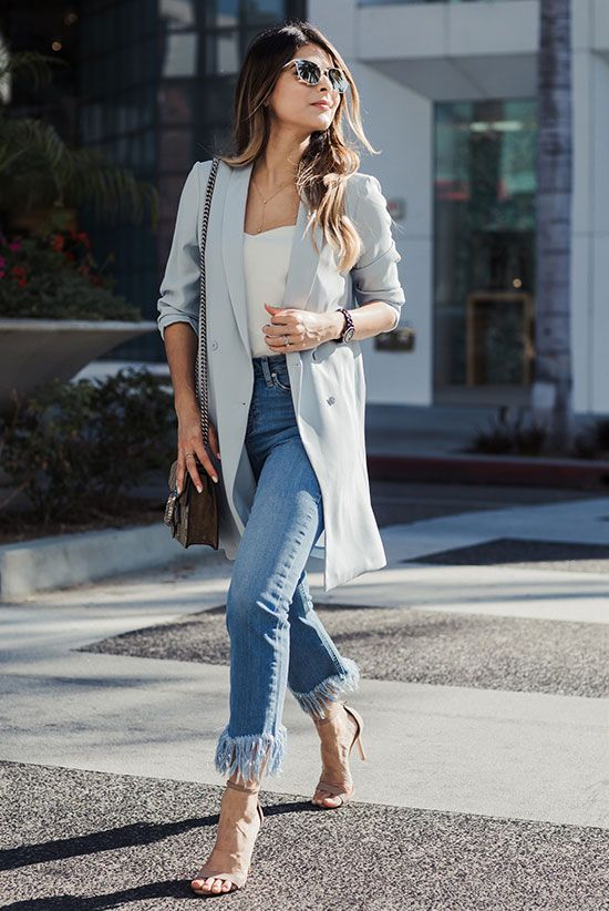 The Best Outfit Ideas Of The Week | Fashion, Fringe hem jeans, New .