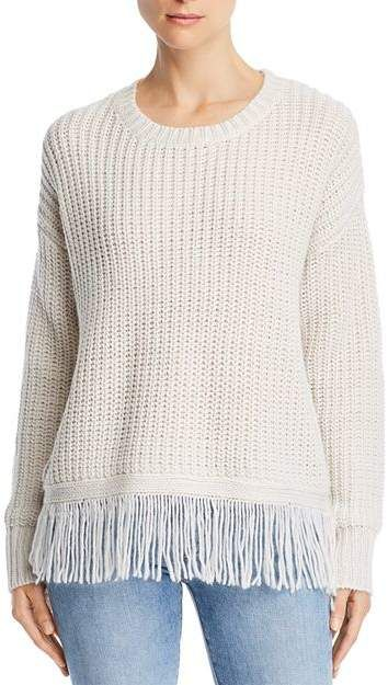 Aqua Fringed Sweater - 100 Exclusive #Fringed#Aqua#Sweater .