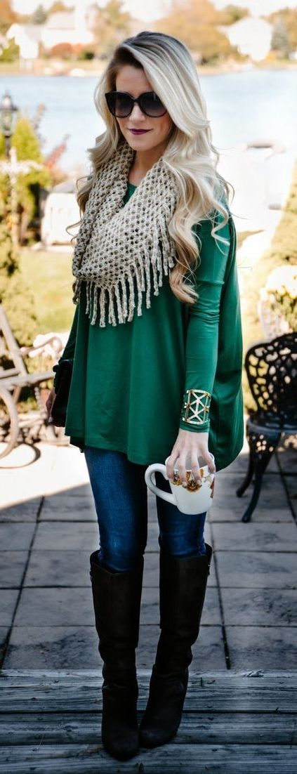4 Simple but Stylish Thanksgiving Outfit Ideas | Fashion, Autumn .