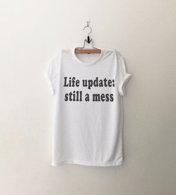Funny graphic tees tshirt tumblr Shirts with sayings Grunge Shirt .