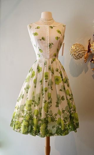 Vintage garden party dress | Vintage 1950s dresses parties, Pretty .