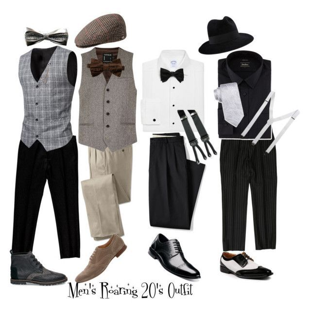 Men's Roaring 20's Outfit Ideas by graceprettyvida on Polyvore .