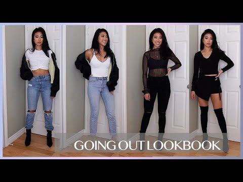 GOING OUT OUTFIT IDEAS | NIGHT OUT LOOKBOOK - YouTu