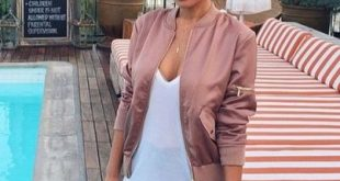 want this rose gold bomber jacket but it's pricey …   Satin bomber .