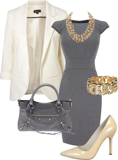 Gray Beige Gold Outfit http://artonsun.blogspot.com/2015/05/gray .