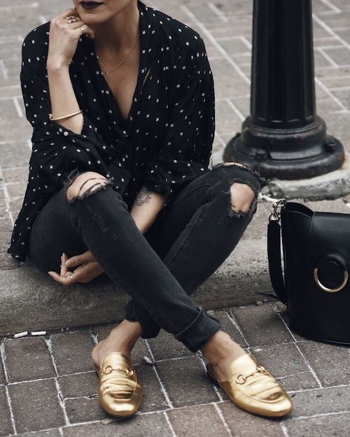 How do you style your Gucci Princetown? | Fashion, Loafers outfit .
