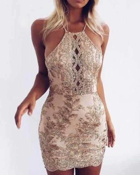 dress, sparkly dress, club dress, short dress, sequin dress .