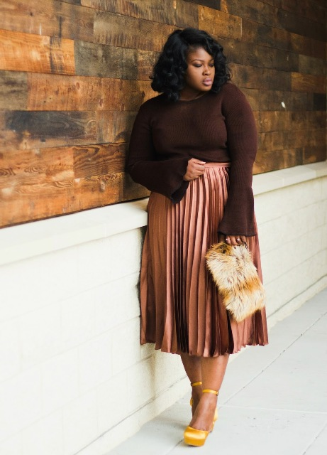 15 Chic Outfit Ideas With Satin Skirts - Styleohol