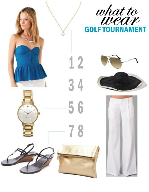 What to Wear: Golf Tournament Looks for Women and Men | Golf .
