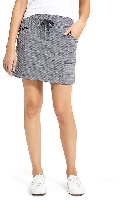 Metro Skort Stripe from Athleta. This is so easy to wear, but looks .