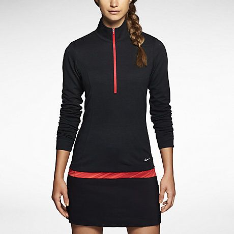 Nike Wool Half-Zip Women's Golf Sweater Golfing outfit i want .