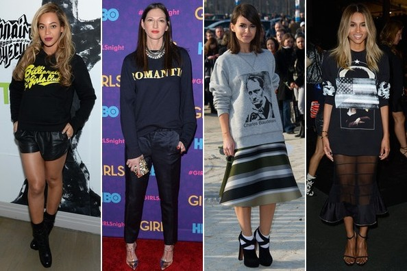 Simple Styling Trick to Try: Sport a Graphic Sweatshirt - Outfit .
